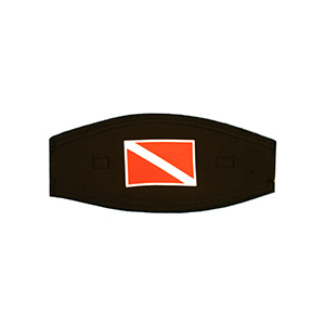 Dive Flag Split Mask Strap Cover