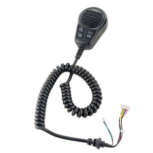 Standard Front Mount Hand Microphone, Black