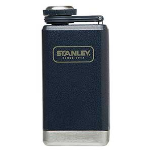 Stainless Steel Adventure Flask, Navy, 5oz.