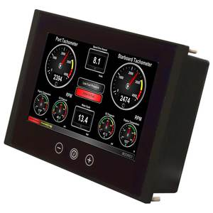 "Vessel Monitoring and Control Touchscreen, 8"" Diag. Color Display"
