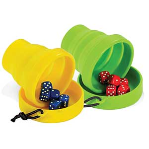 Backpack Bluffer's Dice Game