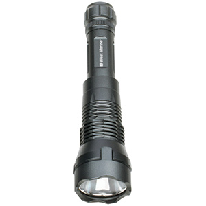 Tactical LED 600-Lumen Rechargeable Flashlight
