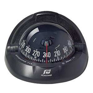Offshore® 115 Compass—Black Case with Black Conical Card