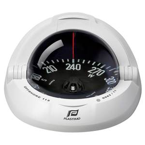Offshore® 115 Compass—White Case with Conical Card