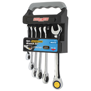 Ratcheting Metric Wrench Set
