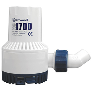 1700gph Heavy-Duty Bilge Pump