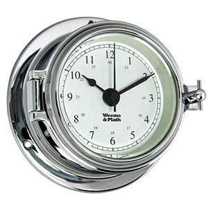 Endurance II 105 Quartz Clock, Chrome