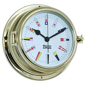 Endurance II 135 Quartz Clock with 12 Hour Flag Dial