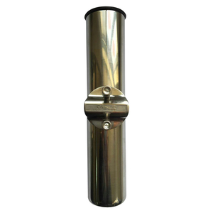 "Clamp-On, Rail-Mount Stainless Steel Rod Holder, 3/4""-1"""