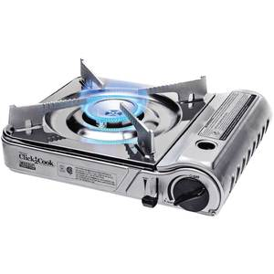 Click 2 Cook Stainless Butane Stove