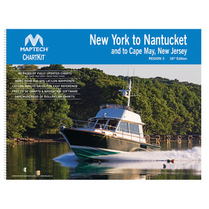 ChartKit  Region 3, 16th Edition New York to Nantucket and to Cape May, New Jersey