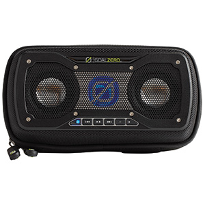 Rock Out 2 Solar Rechargeable Speaker—Black