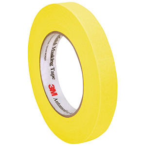 Yellow Automotive Refinish Masking Tape