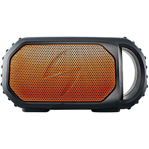 ECOSTONE Waterproof Bluetooth Speaker—Orange