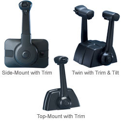Seastar Solutions Top-Mount Trim Deluxe with Trim Switch