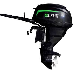 25hp Propane Powered Outboard Engine, Short Shaft, Electric Start