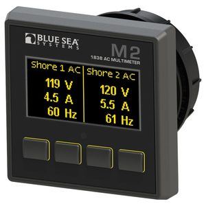 M2 OLED Digital Monitors, AC Multimeter