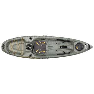 Strike 100X Sit-On-Top Angler Kayak, Muskie/White