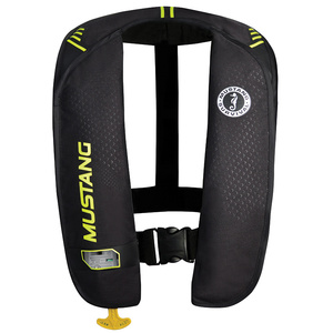 M.I.T. 100 Automatic Inflatable Life Jacket , Yellow Green/Black
