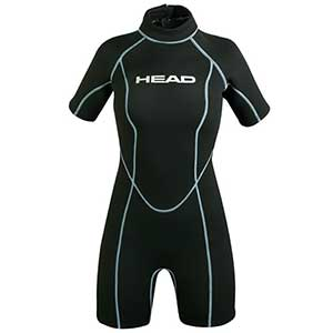 Women's Wave Shorty Wetsuit, 2.5mm