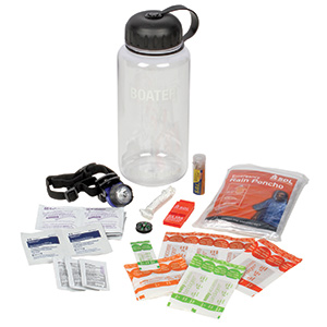 Boater's Water Bottle First Aid Kit