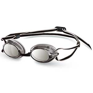 Venom Mirrored Goggles, Silver/Smoke