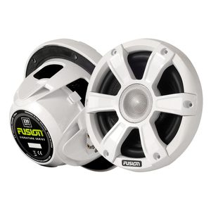 Signature Series Marine Speakers, White, 6.5in, LED