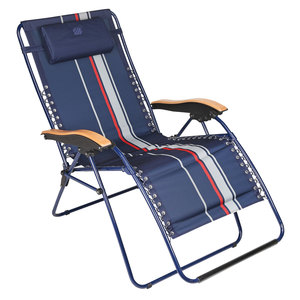 Lido Striped Deck Lounger
