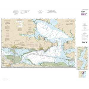 Intracoastal Waterway, Carlos Bay to Redfish Bay, including Copano Bay, 42 X 52, Waterproof