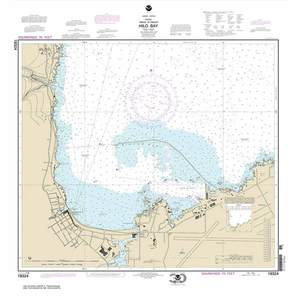 Noaa chart by paradise cay island of hawai i hilo bay 28 for Electro motor services hilo