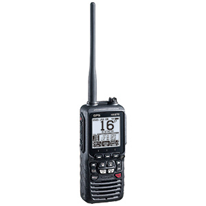 HX870 Floating Handheld VHF Radio with GPS