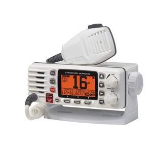 Eclipse GX1300 Fixed Mount VHF Radio, White