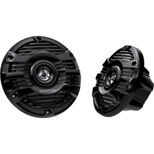 "6 1/2"" 2-Way Marine Speakers—Black"