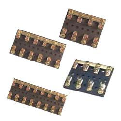 Cole Hersee 4 Circuits, 2-3/4L x 2-1/4W x 5/8H