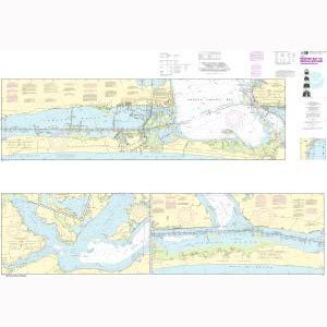 Oceangrafix NOAA Nautical Chart 11308 Intracoastal Waterway Redfish Bay to Middle Ground Sale $24.99 SKU: 16303760 ID# 11308 UPC# 857441005015 :