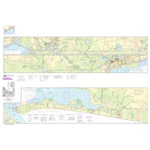 Oceangrafix NOAA Nautical Chart 11331 Intracoastal Waterway Ellender to Galveston Bay Sale $24.99 SKU: 16303802 ID# 11331 UPC# 857441005053 :