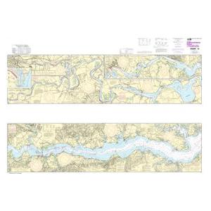 Oceangrafix NOAA Nautical Chart 12237 Rappahannock River Corrotoman River to Fredericksburg Sale $24.99 SKU: 16304115 ID# 12237 UPC# 857441005367 :