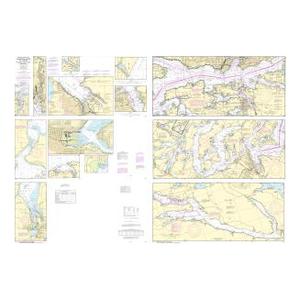Oceangrafix NOAA Nautical Chart 18445 Puget Sound-Possession Sound to Olympia including Hood Canal Sale $24.99 SKU: 16304248 ID# 18445 UPC# 857441005497 :