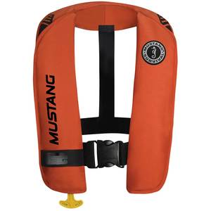 M.I.T. 100 Inflatable Life Jacket, Orange