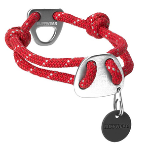 Knot-a-Collar™, Red, Medium