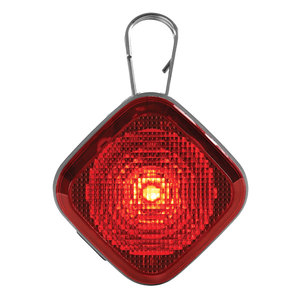 The Beacon™ Safety Light for Dogs, Red