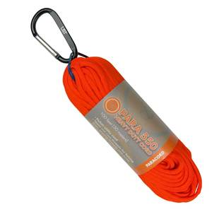 100 ft. Utility Paracord 550 Hank, Orange