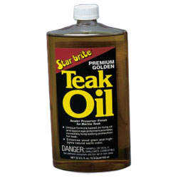 Star Brite Premium Golden Teak Oil - Quart Sale $33.99 SKU: 493007 ID# 85132 UPC# 71247851328 :