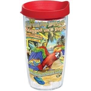 Margaritaville Flip Flop Pop Top Tumbler, 16oz.