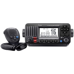 M424G Fixed VHF Radio with GPS Receiver—Black