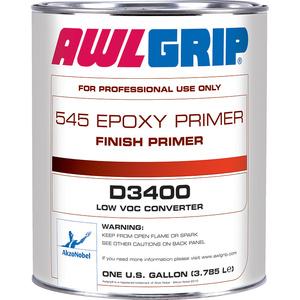 Awlgrip 545 Epoxy Finish Primer D3400 Low Voc Converter Gallon West Marine