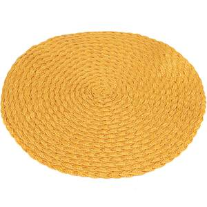 Braided Placemat, Yellow