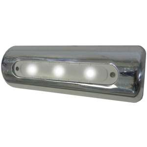 LED Deck Light - Pipe Mount, White