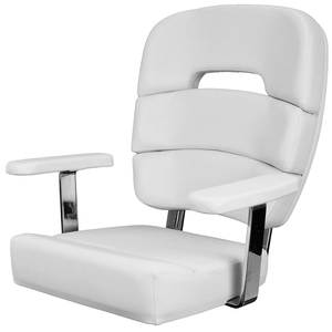 Coastal Helm Chair Standard with Armrests, Cool Gray