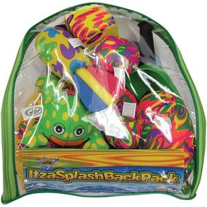 Itzasplash 16pc Toy Backpack